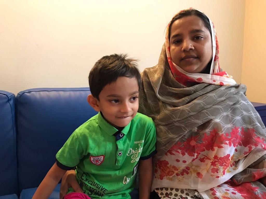 Grazie alla segnalazione Dr. De Castro, ed alla sinergia di più associazioni, siamo riusciti ad aiutare il piccolo Rahaman Wasir nella lunga strada verso il suo intervento